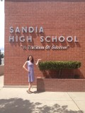 I went to Albuquerque this summer with my children and we drove to the school where Matt went to highschool.